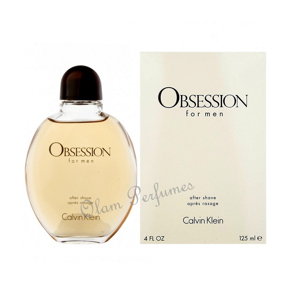 Calvin Klein Obsession After Shave Lotion 4.0oz 125ml